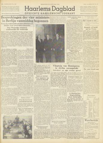 Haarlem's Dagblad 1954-01-25