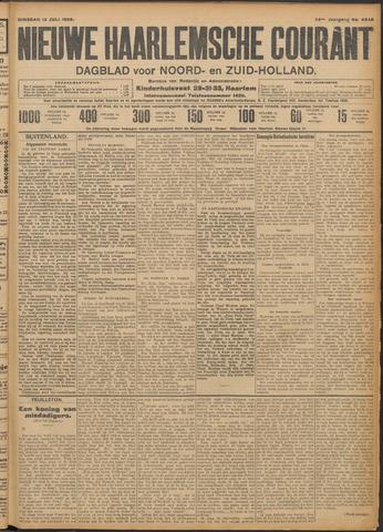 Nieuwe Haarlemsche Courant 1909-07-13
