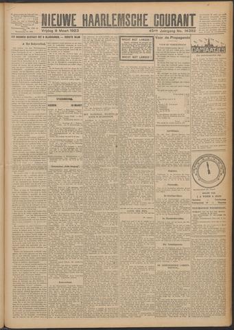 Nieuwe Haarlemsche Courant 1923-03-09
