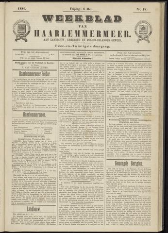Weekblad van Haarlemmermeer 1881-05-06