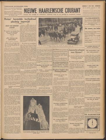 Nieuwe Haarlemsche Courant 1938-07-11