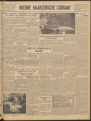 Nieuwe Haarlemsche Courant 1949-02-22