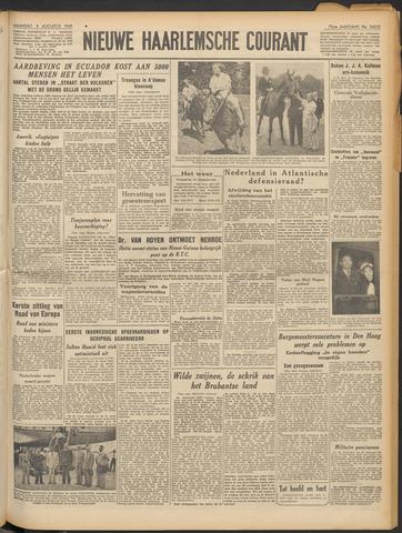 Nieuwe Haarlemsche Courant 1949-08-08
