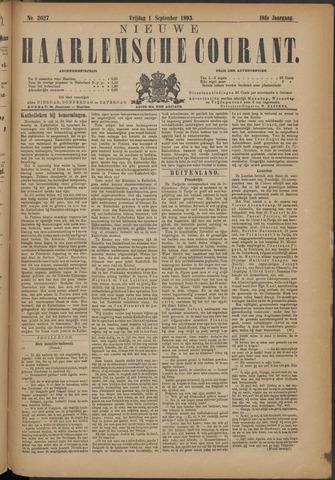 Nieuwe Haarlemsche Courant 1893-09-01