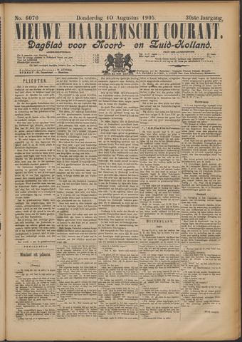 Nieuwe Haarlemsche Courant 1905-08-10