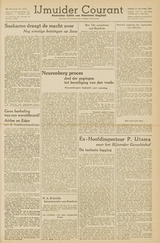 IJmuider Courant 1945-11-23