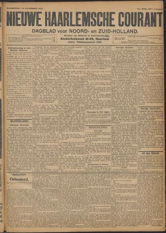 Nieuwe Haarlemsche Courant 1907-11-28