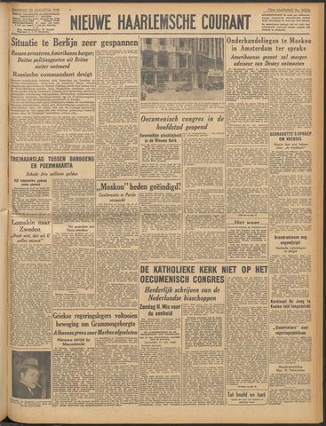 Nieuwe Haarlemsche Courant 1948-08-23
