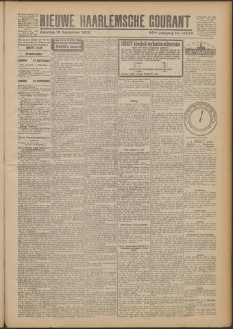 Nieuwe Haarlemsche Courant 1922-09-16