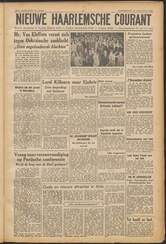 Nieuwe Haarlemsche Courant 1946-08-29