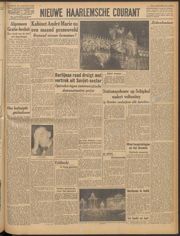 Nieuwe Haarlemsche Courant 1948-08-28