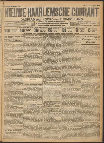 Nieuwe Haarlemsche Courant 1914-04-20
