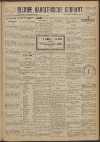 Nieuwe Haarlemsche Courant 1923-08-25