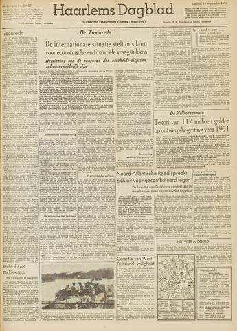 Haarlem's Dagblad 1950-09-19