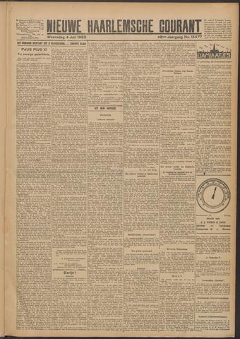 Nieuwe Haarlemsche Courant 1923-07-04