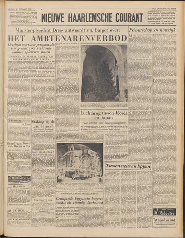 Nieuwe Haarlemsche Courant 1951-12-21