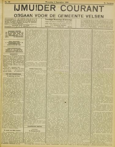 IJmuider Courant 1922-09-06