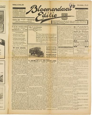 Bloemendaal's Editie 1929-02-23