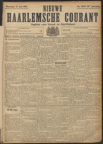 Nieuwe Haarlemsche Courant 1907-07-22