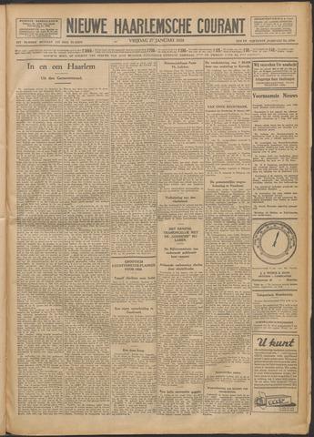 Nieuwe Haarlemsche Courant 1928-01-27