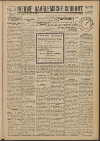 Nieuwe Haarlemsche Courant 1922-10-14