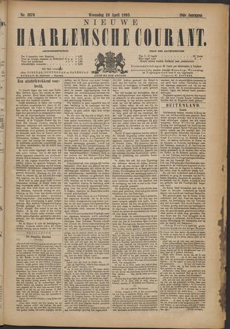 Nieuwe Haarlemsche Courant 1893-04-26