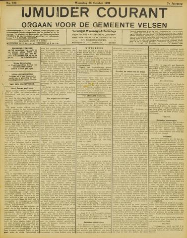 IJmuider Courant 1922-10-25