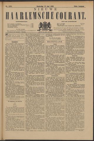 Nieuwe Haarlemsche Courant 1895-06-13