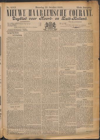 Nieuwe Haarlemsche Courant 1899-10-16