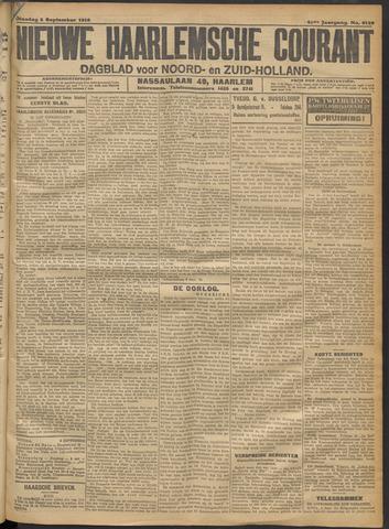 Nieuwe Haarlemsche Courant 1916-09-05