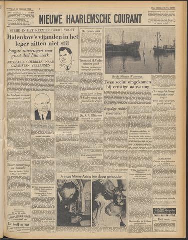 Nieuwe Haarlemsche Courant 1954-02-22