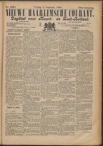 Nieuwe Haarlemsche Courant 1905-08-04