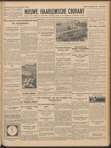 Nieuwe Haarlemsche Courant 1938-08-14