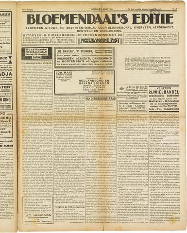 Bloemendaal's Editie 1926-03-20