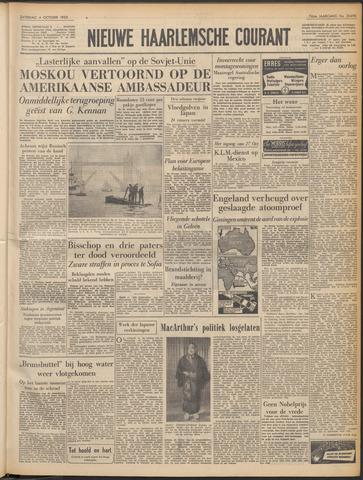 Nieuwe Haarlemsche Courant 1952-10-04