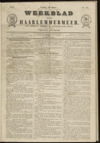 Weekblad van Haarlemmermeer 1874-03-27