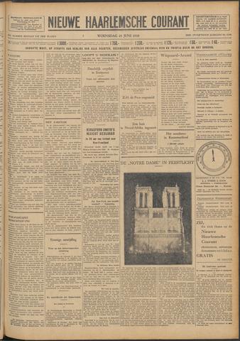 Nieuwe Haarlemsche Courant 1930-06-25