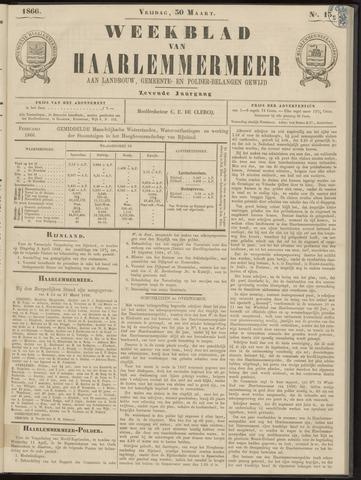 Weekblad van Haarlemmermeer 1866-03-30