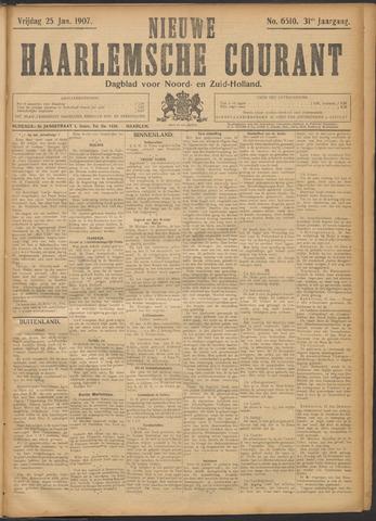 Nieuwe Haarlemsche Courant 1907-01-25