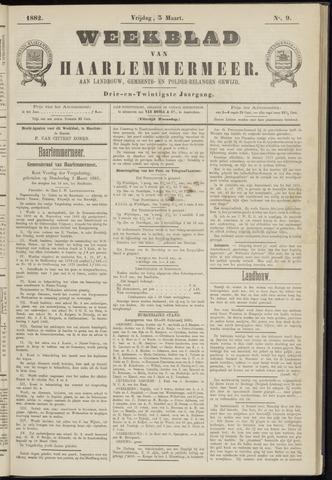 Weekblad van Haarlemmermeer 1882-03-03