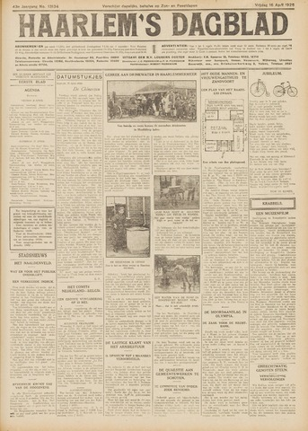 Haarlem's Dagblad 1926-04-16