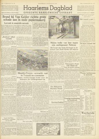 Haarlem's Dagblad 1954-08-02