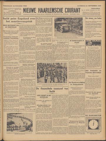 Nieuwe Haarlemsche Courant 1935-09-21