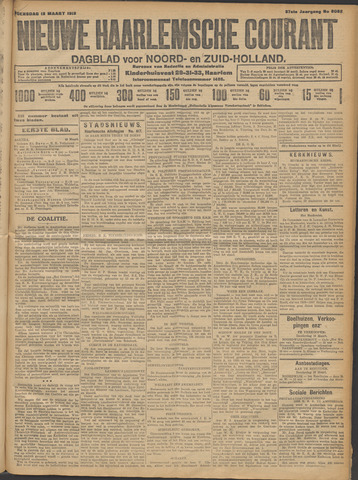 Nieuwe Haarlemsche Courant 1913-03-12