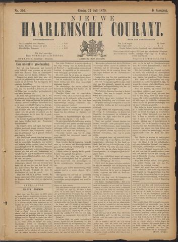 Nieuwe Haarlemsche Courant 1879-07-27