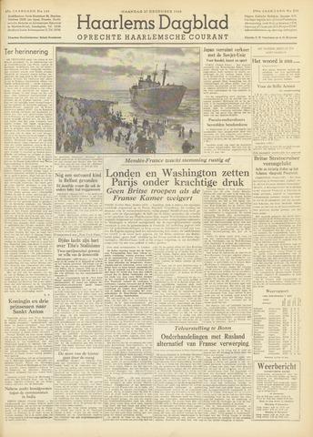 Haarlem's Dagblad 1954-12-27