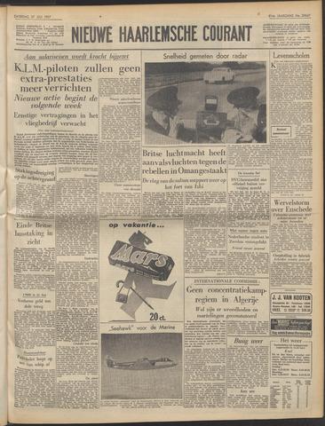 Nieuwe Haarlemsche Courant 1957-07-27