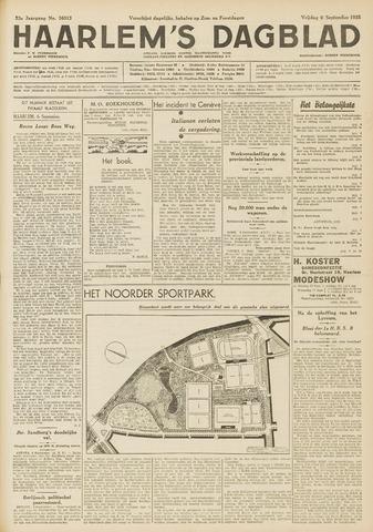 Haarlem's Dagblad 1935-09-06