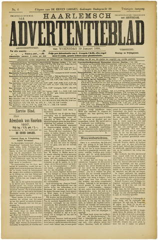Haarlemsch Advertentieblad 1898-01-19