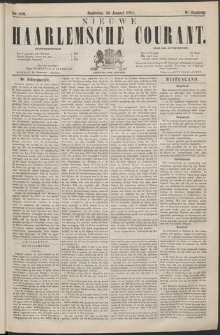 Nieuwe Haarlemsche Courant 1881-01-20